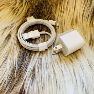NWT - Apple Charging Cable and Power Adapter